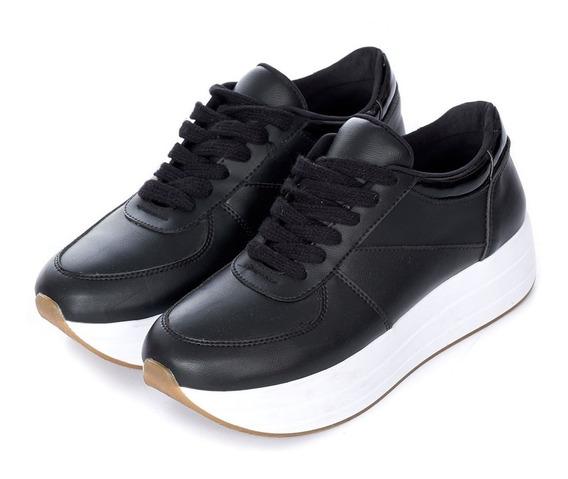 Zapatos Casual Sport Negro Quest
