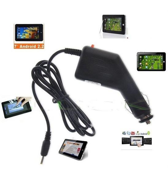 Carregador Tablet 9v 1,5a Plug 3,5mm - Modelo Veicular