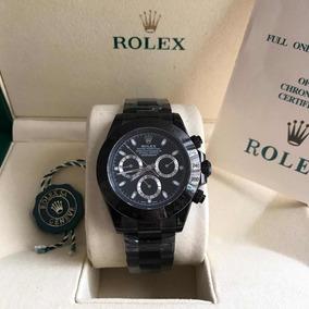 Relógio Rlx D.a.y.t.o.n.a Black, Automático,vidro Safira,nov