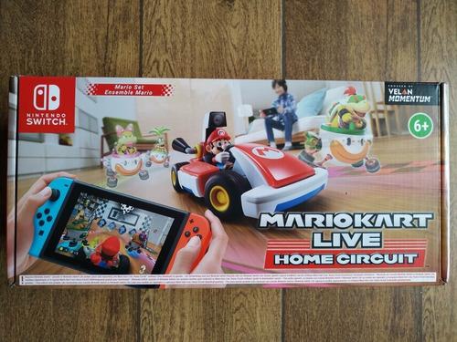 Imagen 1 de 4 de Mariokart Live Home Circuit (mario Set)