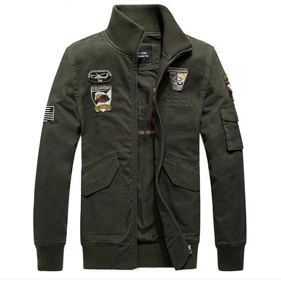 Pronto Entrega Jaqueta Masculina Militar Exército Importada