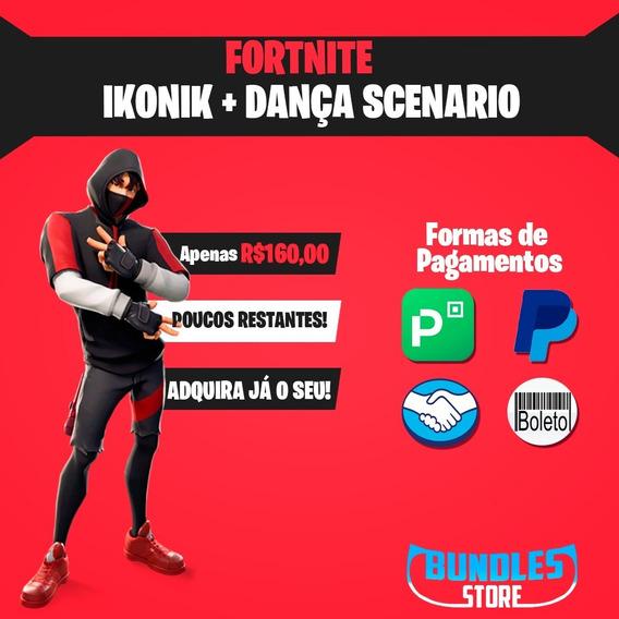 Fortnite Ikonik + Dança Scenario, Xbox,ps4,pc,nitendo,mobile