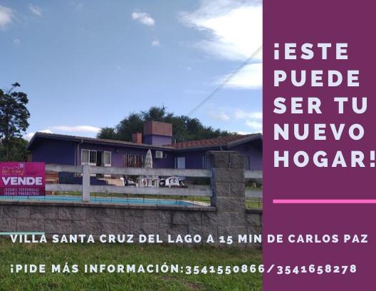 Casa Venta Villa Santa Cruz Del Lago