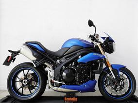 Triumph Speed Triple 1050 Abs 2014 Azul