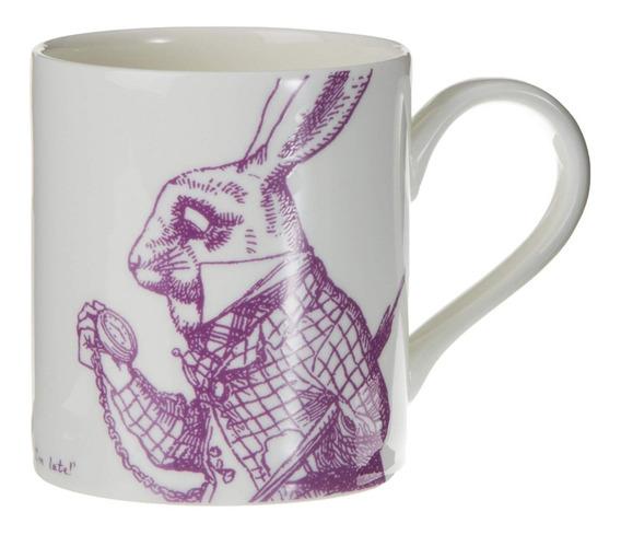 Taza Conejo Alice In Wonderland Whittard Porcelana