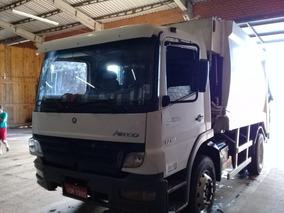 Atego 1718 Frontal C/ Compactador De Lixo 15 M3