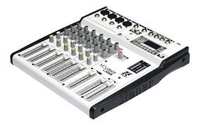 Mesa De Som Staner Mx-0603 Usb 6 Canais - Riff Music Store