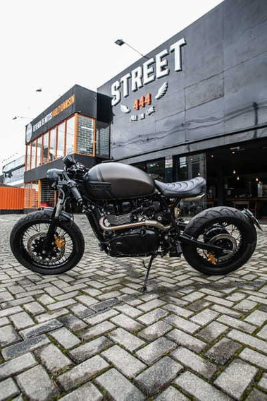 Triumph Cafe Racer Customizada Pela Legend 900cc 2015