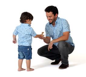 Mi Patricio, Camisa Manga Corta Papá E Hijo / Padre E Hijo