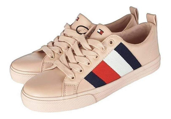 Tenis Tommy Hilfiger Mujer Rosa