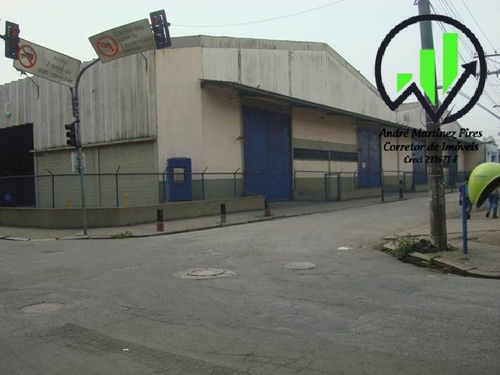Imagem 1 de 15 de Galpão Com 4.273 M² A Venda No Paquetá - Santos - 208