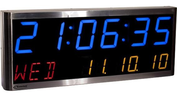 Masterclock Relojes Digitales Ntp Serie Ntds46-alpha