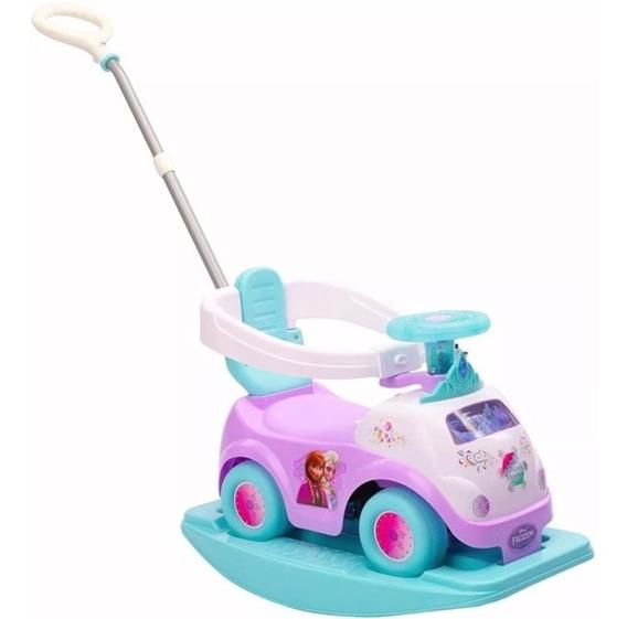 Auto Carrito Coche Montable Bebe Disney Frozen Niña 4 En 1