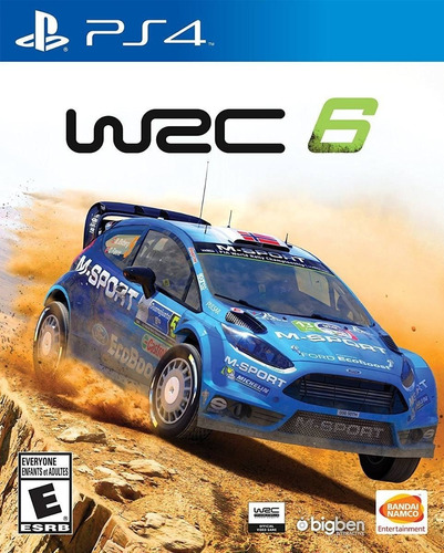 Wrc 6 World Rally Championship Juego Ps4 Original + Garantía