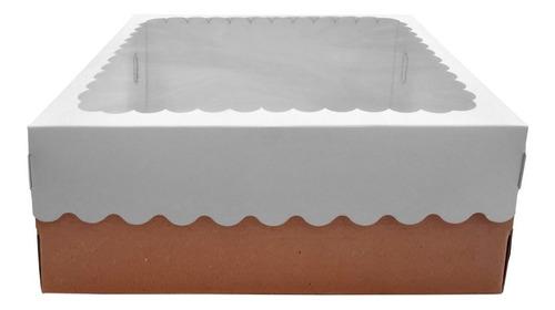 Caja Para Desayuno Oslo Blancas 30x30x12 X50 Unidades