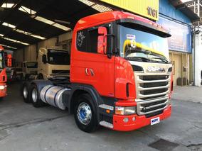 Caminhão Scania G380 6x2 2010 Excelente Estado