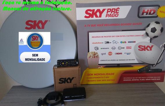 Kit Sky Original Instale & Habilite Vc Mesmo !