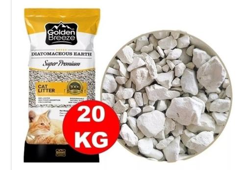 Imagen 1 de 2 de Piedras Sanitarias Para Gato Sanito 20kg Mas Envio Gratis
