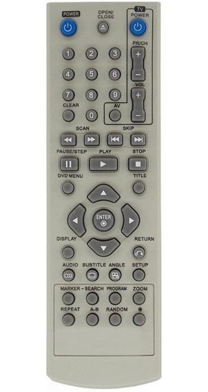 Controle Remoto Para Dvd Lg 6711r1p089a / Dk194g