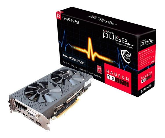 Placa Video Amd Radeon Rx 570 4gb Sapphire Pulse 3