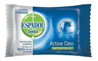 Barra Jabón Espadol Dettol 90 Grs Original Antibacterial