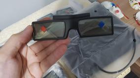 Óculos 3d Ssg-4100gb Ativo Para Tv Samsung - Novo Lacrado