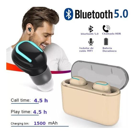 Fone True Wireless 2.4g Modelo T33 - A Prova Dagua
