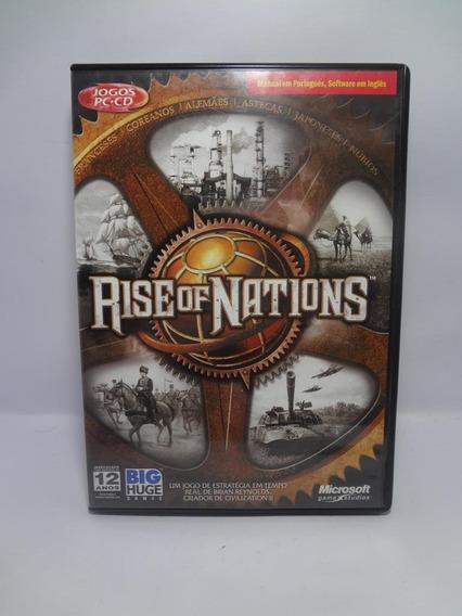 Jogo Game Pc Rise Of Nations Original