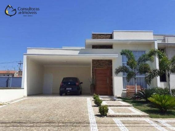 Casa Com 3 Dormitórios À Venda, 172 M² Por R$ 680.000 - Condomínio Campos Do Conde Ii - Paulínia/sp - Ca1175