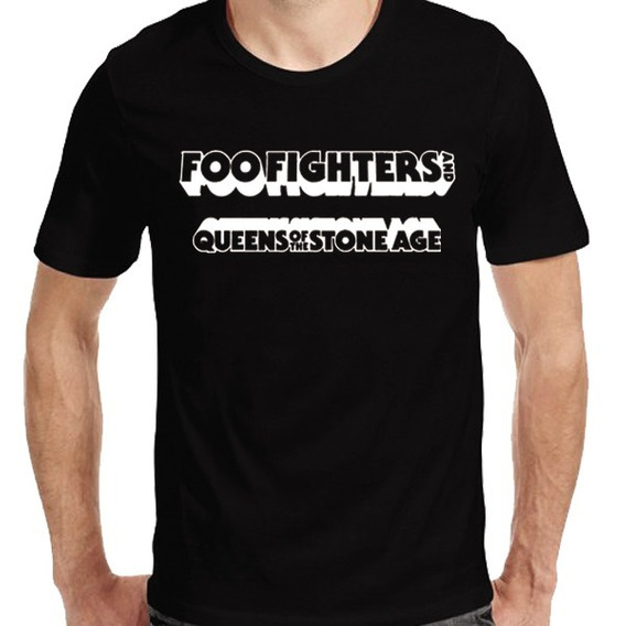 Remeras Foo Fighters Velez Queens Of The Stone Age 2018