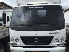 Mercedes-benz Accelo 1016 Com Baú Carga Seca 2012