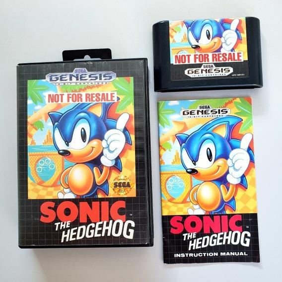 Sonic 1 Original Mega Drive Sega Genesis