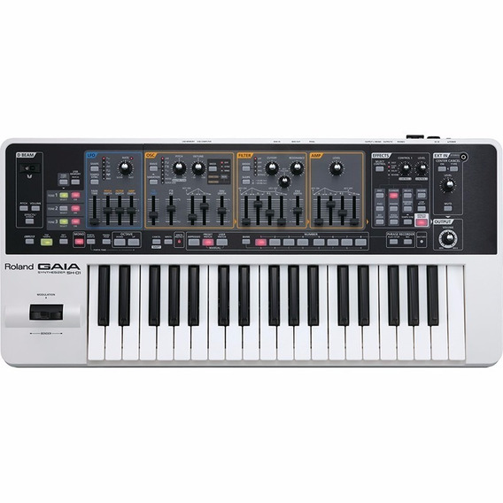 Teclado Sintetizador Roland Gaia Sh01 - Original Lançamento