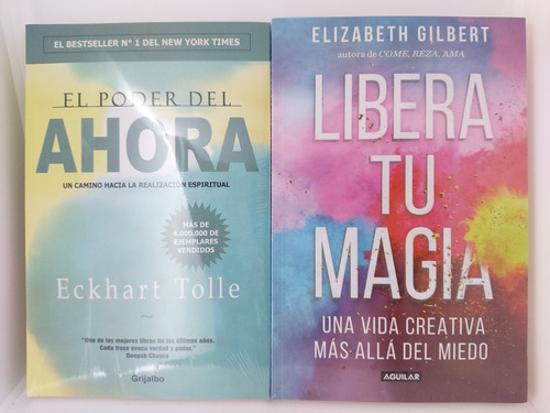 Imagen 1 de 2 de El Poder Del Ahora + Libera Tu Magia