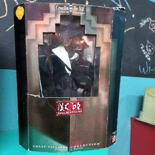 Imagem 1 de 7 de Cruella De Vil Mattel 101 Dalmatas Great Villains Disney