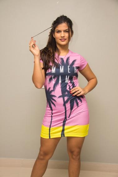 Vestido Summer Rosa Coqueiros