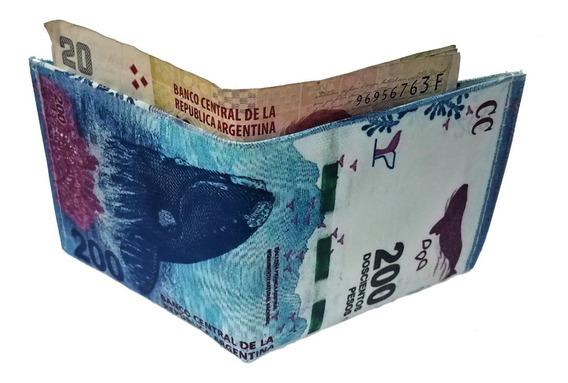 Billeteras Impermeables Con Diseño De Billetes