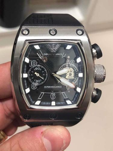 Relógio Emporio Armani (ar 4900) Automático - Ed. Limitada