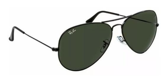 Óculos De Sol Ray Ban Rb3026 Aviador Na Promoção