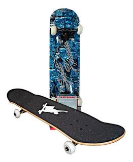 Tabla Patineta Skate 100% Pino Canadiense Diseños Original
