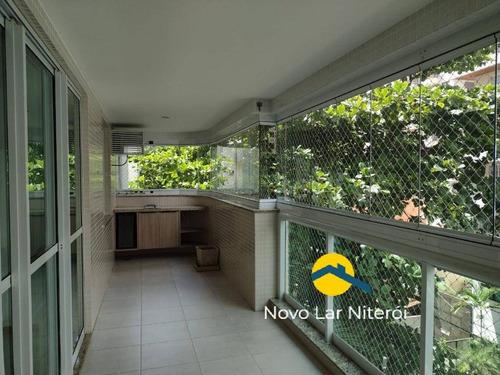 Imagem 1 de 15 de Excelente Apartamento No Jardim Icaraí Planta Com 126 M² - 138