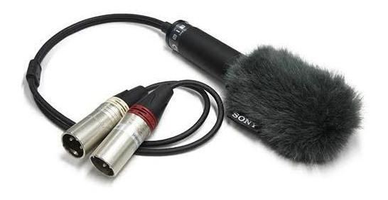 Microfone Condensador Sony Ecm-ms2