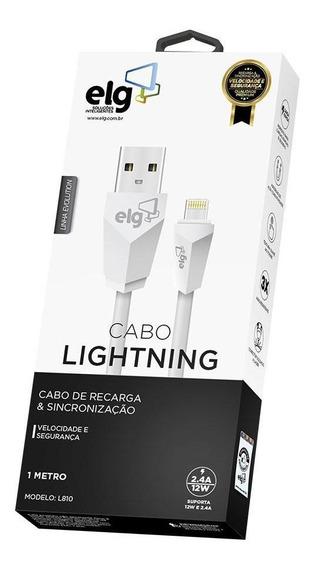 Cabo De Celular P/ iPhone ELG L810 1m Branco