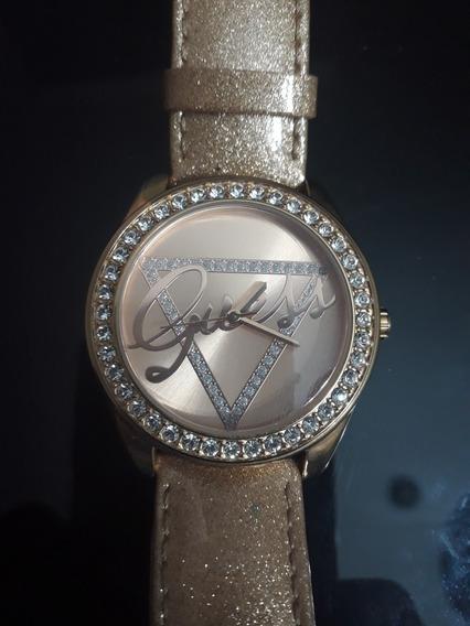 Relógio Feminino Guess Original Rose Gold