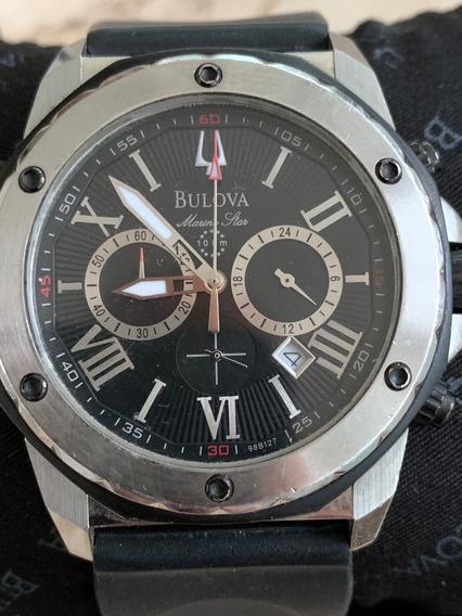 Relógio Bulova Marine Star Masculino - Ref: 98b127