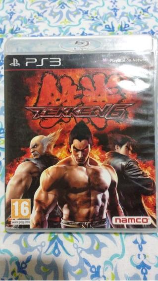 Tekken 6(leia) - Mídia Física - Ps3