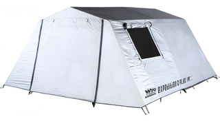 Carpa Familiar Expedition 6 Plus Waterdog Camping 2 Dorm.