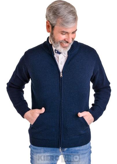 Campera De Lana Sweater Hombre Pullover Saco Cierre Kierouno