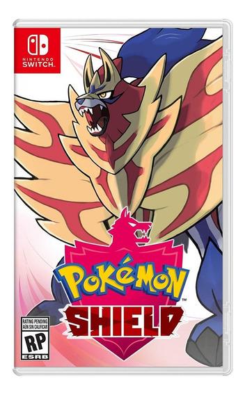 Jogo Novo Midia Fisica Pokemon Shield Para Nintendo Switch