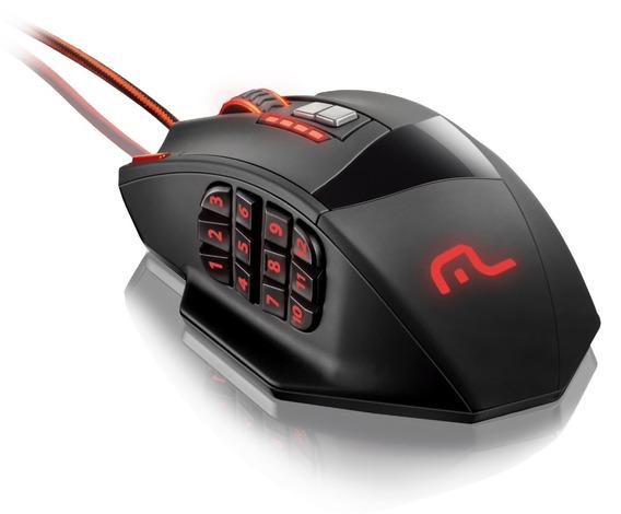Mouse Gamer Multilaser Warrior Mo206 18 Botões 4000dpi Led